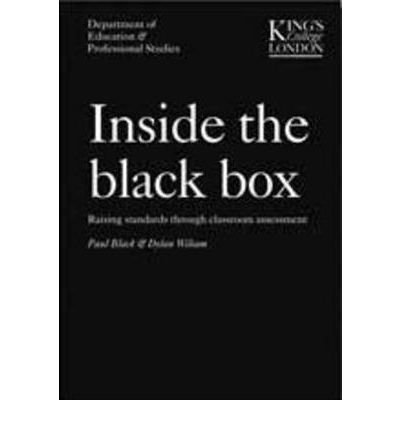 Download Inside the Black Box Raising Standards Through Classroom Assessment by Black, Paul ( Author ) ON Feb-21-2006, Paperback PDF