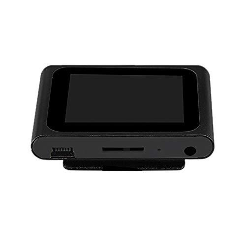 Liu Nian LCD Screen 6th Clip MP4 Fashion Portable Music Player FM Radio USB Mini MP4 Player Nano Design Support 32GB Micro SD TF Card ()
