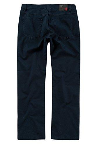 JP 1880 Homme Grandes tailles Pantalon 5 poches, imprimé bleu marine 26 706466 70-26