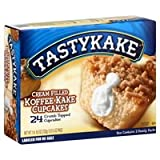 Tastykake Cream Filled Koffee Kake Cupcakes - 24CT