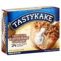 Tastykake Cream Filled Koffee Kake Cupcakes - 24CT by Tastykake