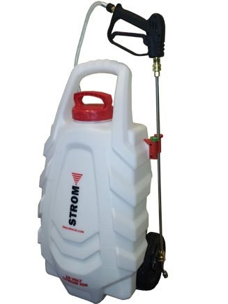 Strom 18-Volt Cordless Electric Wheeled Sprayer by Strom