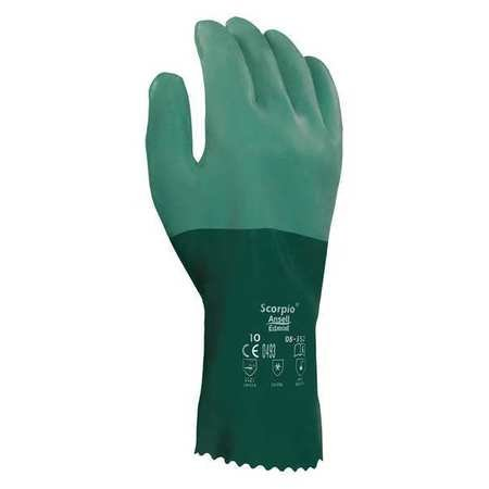 Chemical Resistant Glove, 12'' L, Sz 8, PR- Pack of 5 by ANSELL (Image #1)