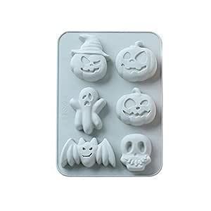 VICKY-HOHO - Molde de Silicona para Halloween, decoración para ...