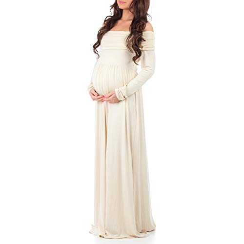 0de9ae35e2a Women s Cowl Neck and Over The Shoulder Ruched Maternity and Nursing Dress  by Mother Bee -