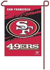 NFL San Francisco 49ers WCR08384013 Garden Flag, 11