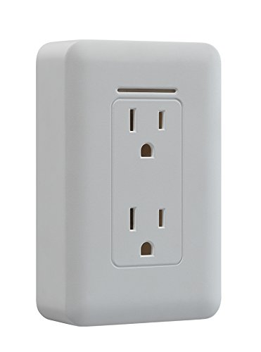 Twin-Star TSR-01 Safer Socket Fire Prevention Plug, White
