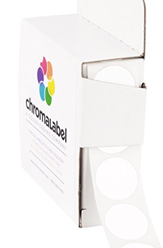 3-4-removable-white-color-code-dot-labels-clean-remove-adhesive-075-in-1000-stickers-dispenser-box