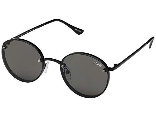 Quay Women's Farrah Sunglasses, Black/Smoke, One ()