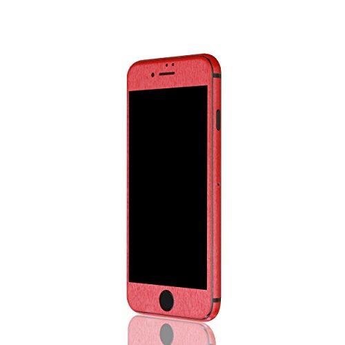 AppSkins Vorderseite iPhone 7 Metal red