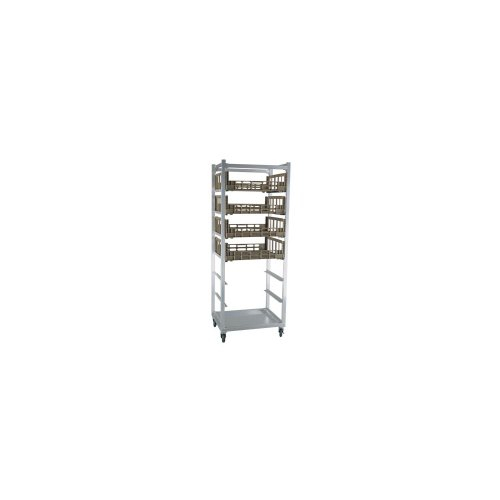 New Age Industrial Mobile Produce Crisping Cart, Holds Eight 29-1/8 x 26-1/2 Chill Trays