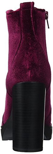 Laurie Steve Red Ankle Madden Boots WoMen Burgundy 0w7Zx74EO