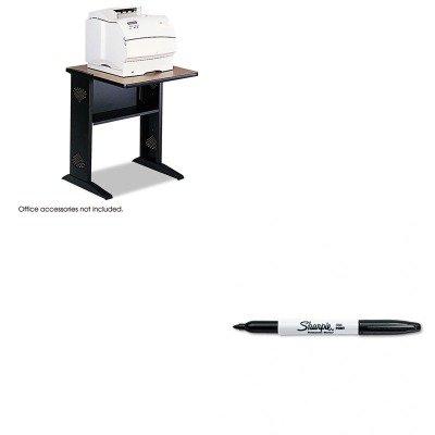 KITSAF1934SAN30001 - Value Kit - Safco Fax/Printer Stand w/Reversible Top (SAF1934) and Sharpie Permanent Marker (SAN30001) -