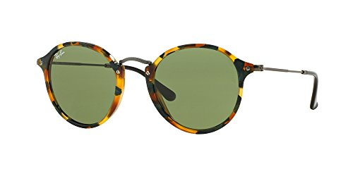 Ray Ban RB2447 11594E 52M Spotted Green - Fleck Ban Ray