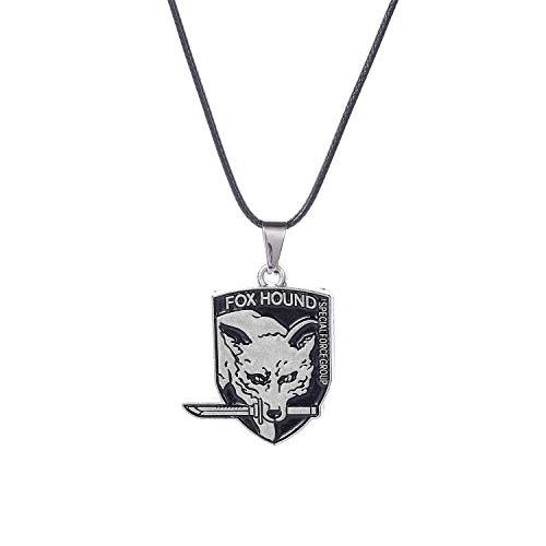 lureme Metal Gear Solid Pendant Necklace (nl006165-5) Style E