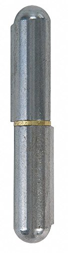 29/32 x 5-1/3 Stainless Steel Weld-On Hinge Without Holes and 440.0 lb. Load Capacity by Marlboro