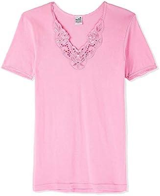 los angeles 47c91 fe2dd Pierre Donna Motiff Short Sleeve T-Shirt for Women - Pink ...