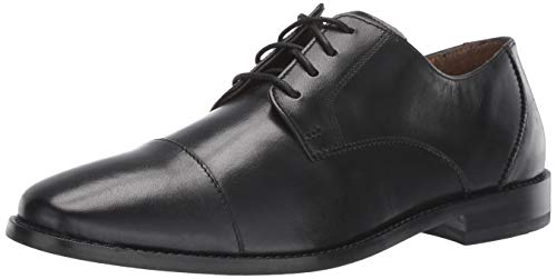 Florsheim Men's Montinaro Cap Toe Dress Shoe Lace Up Oxford, Black, 10.5 3E - Aware Caps
