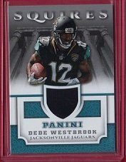 6291b66bd Amazon.com  2017 Panini Squires Jerseys  30 Dede Westbrook - Rookie ...