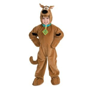 CHILD Small (Size 4-6, 3-4 Yrs) Deluxe Scooby-Doo Costume (see size notes for packaging) (Scooby Doo Kids Costume)