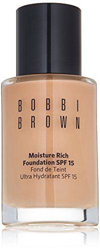 1 Ounce Moisture Rich Foundation (Bobbi Brown Moisture Rich Foundation SPF 15, No. 4 Natural, 1 Ounce)