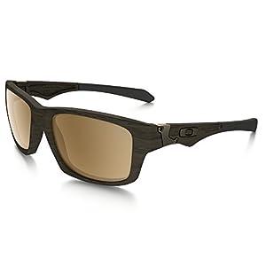 Oakley Jupiter Squared Sunglasses Wood/Tungsten Irid. Pol. & Care Kit Bundle