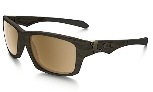 Oakley Jupiter Squared Sunglasses Wood/Tungsten Irid. Pol. & Care Kit - Jupiter Glasses Oakley