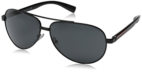 d7e67ba9a Prada Sport Women's PS 51NS - BARNBURNER Designer Sunglasses, Black - Buy  Online in UAE.   Shoes Products in the UAE - See Prices, Reviews and Free  Delivery ...