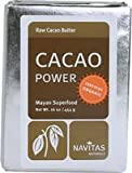 Navitas Organic Cacao Butter, 16 Ounce