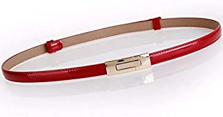 IANXI Home Very Stylish Belt The Lap of The fine Decor is Stylish Dresses, Small Leather Belt Waist Chain (Color : Pink) IANXI-belt