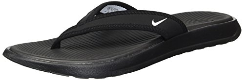 Nike Women's Celso Thong Plus Sandal Black/White Size 8 M US