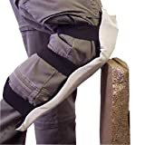 Impacto One Size Fits Most White Impacto Layered Foam Cotton and Suede Leather Knee/Shin Protector