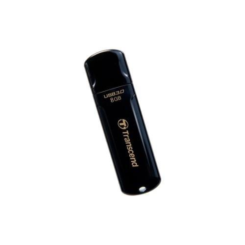 Jetflash 700 Flash Drive - Transcend JetFlash 700 8 GB Flash Drive - Black - USB 3.0 - External