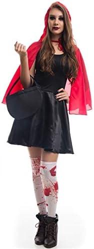 Fantasia De Halloween Adulto Feminina Chapeuzinho Vermelho Zumbi Com Cesta Gg 48 50 Amazon Com Br