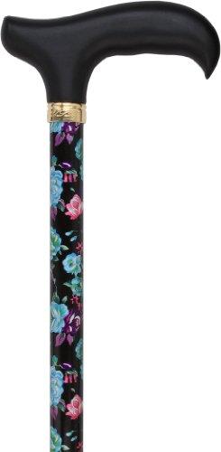 Midnight Bloom Standard Adjustable Cane