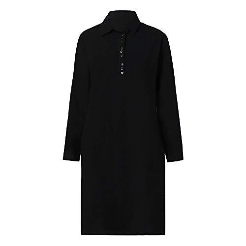 Tops Robe Couleur Floral Fashion Bouton lgante Chemisier Noir Unie Automne Casual Manches Chic Loose Longues Blouse millenniums Chemise Top aIgxq