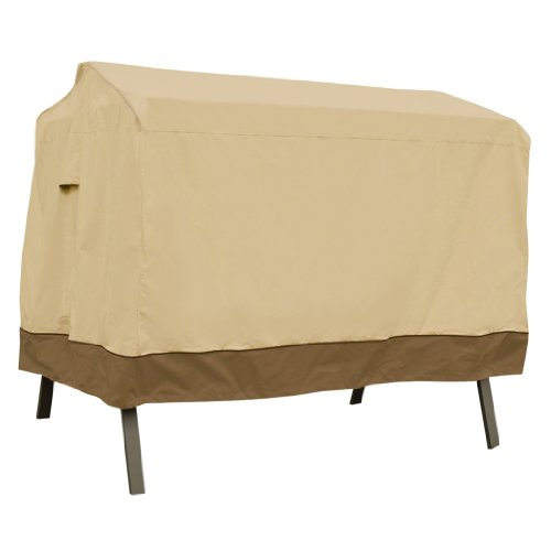 Classic Accessories Veranda 2-Seater Patio Canopy Swing Cover - Durable and Water Resistant Outdoor Furniture Cover (72962) - 2 Seater Glider