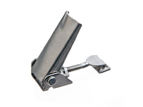 Latch Type (JW Winco Series GN 831-NI Stainless Steel Toggle Latch with Adjustable Grip, Metric Size, Type A, Clamp Size 100, 1000 Newton Holding Capacity, Short)