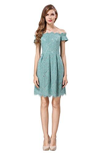 aqua dress - 2