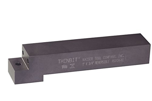 THINBIT SRE0138 Small Series Straight Reversible Head for Left or Right Hand on a 1 inch x 3//8 inch toolholder Shank Use with Any S Series Insert.