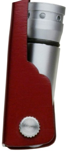 Swiss+Tech ST35000 Metallic Maroon 8-in-1 Mini Pocket Multitool for Camping, Sports, Hardware