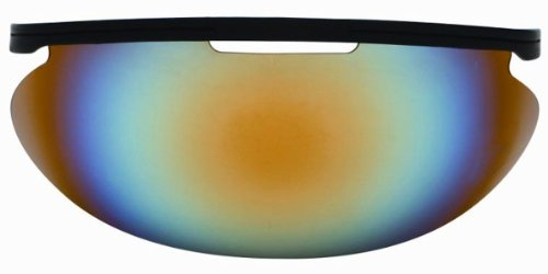 - Diamond Iridium Baseball Face Mask Sun Visor, Multi Color