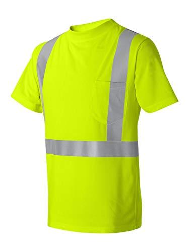 - ML Kishigo High Performance Microfiber T-Shirt, Lime, Large