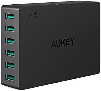 Aukey PA-U46 6-Port USB 60W Desktop Charger