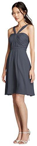 crinkle chiffon dress - 5