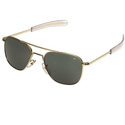 Amazon.com: American Optics - Gafas de sol con marco negro y ...