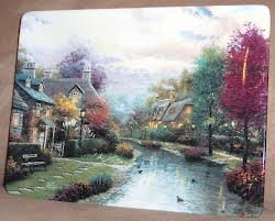 Thomas Kinkade Collector Plate - 5