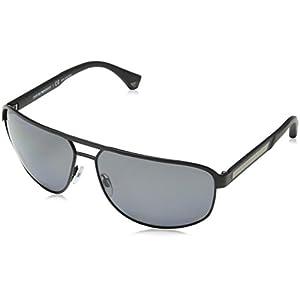 Emporio Armani EA 2025 Men's Sunglasses Matte Black 64