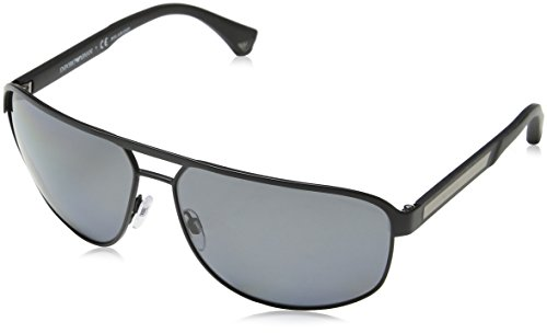 Emporio Armani EA 2025 Men's Sunglasses Matte Black 64