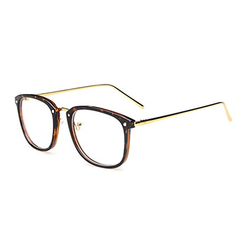 LOMOL Girls Retro Lovely Personality Student Style Transparent Lens Big Frame - Ray Bans Where Best Place Is Buy The To